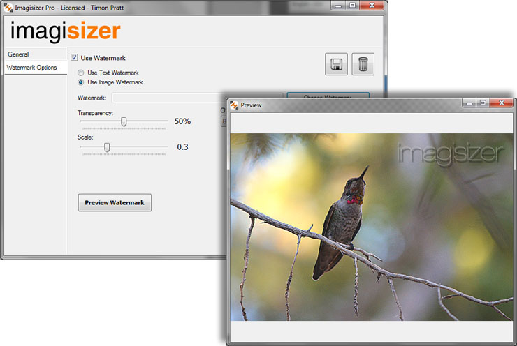 Simultaneous Batch Image Resizing Software