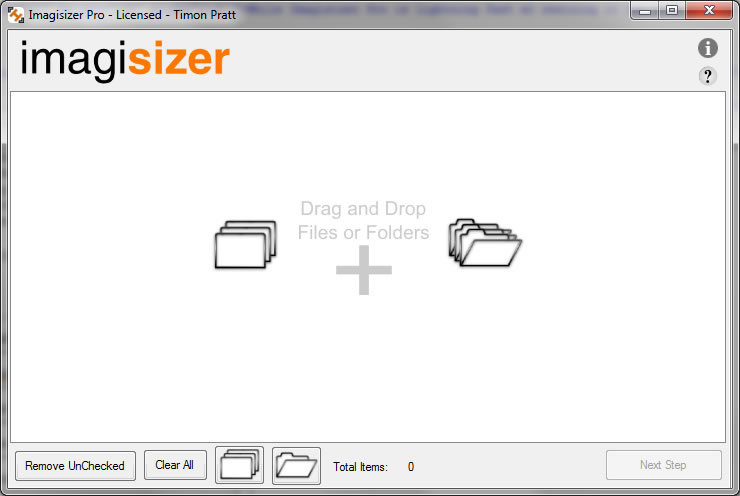 Resize multiple Photographs and Images and image folders in one process